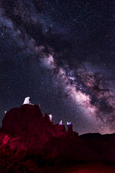 Mono Lake - Milky Way