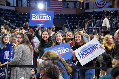 Bernie Sanders Visit @Wofford