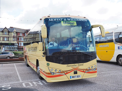 Blackpool Gynn Square Coach Park 6th. & 10th, August 2017