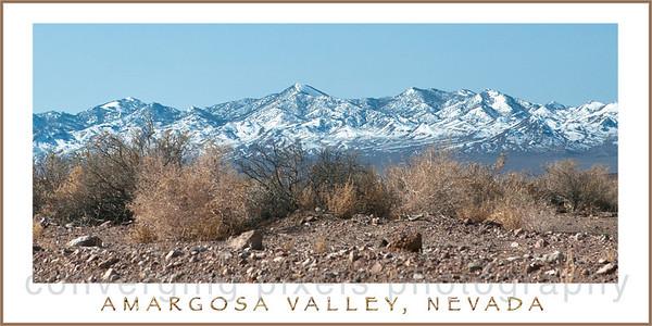 Amargosa Valley along Hwy 95, Nevada.