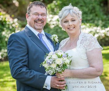Jennifer & Richard 9th May - Woodlands Leeds