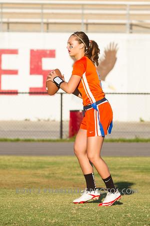 Boone @ Edgewater Girls Varsity Flag Football District Championship - 2012