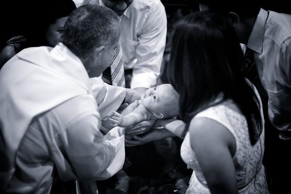 Brayden's Baptism