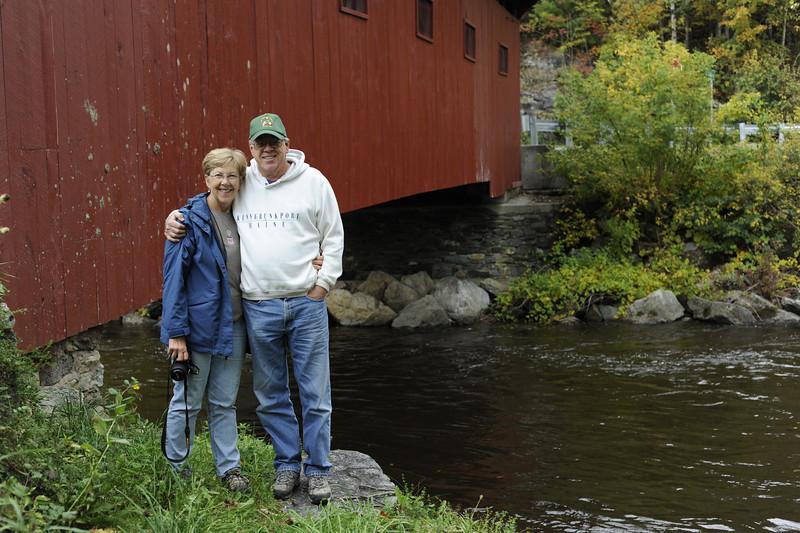 John and Cheryl at the Battenkill River