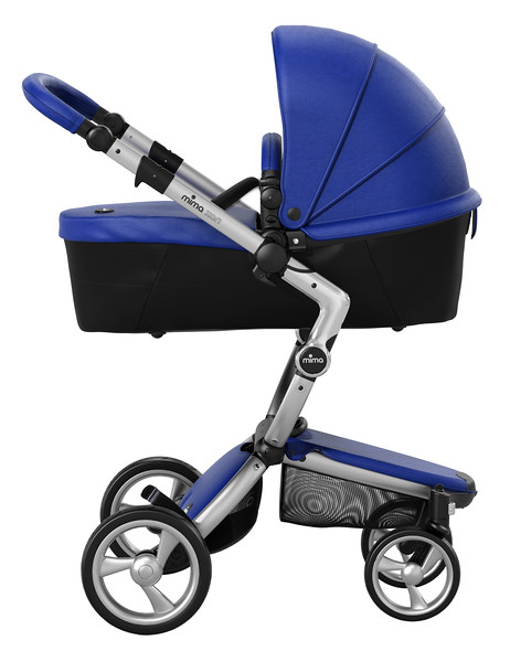 Mima_Xari_Product_Shot_Royal_Blue_Aluminium_Chassis_Black_Carrycot_Side_View.jpg