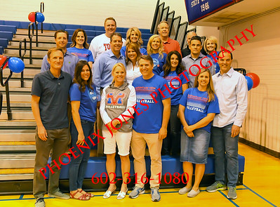 4-30-19 - Mountain View v Dobson - Boys Volleyball - Senior Night