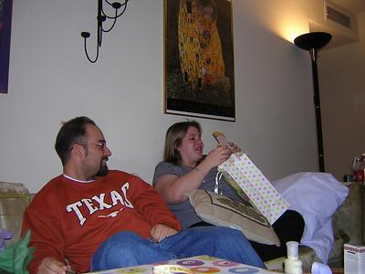Paul & Racheal's, Anna's Birthday (11/13, 11/20/04)
