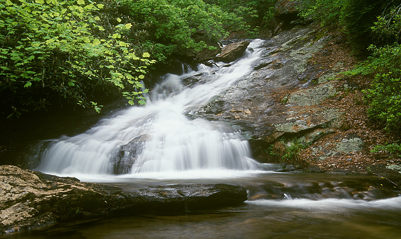 Small Falls on Holcomb Creek