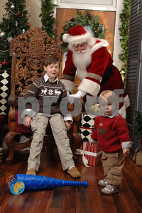 Brocks with Santa