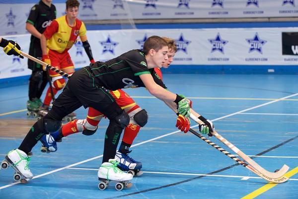 Quarter finals: ADValongo-HockeyBassano