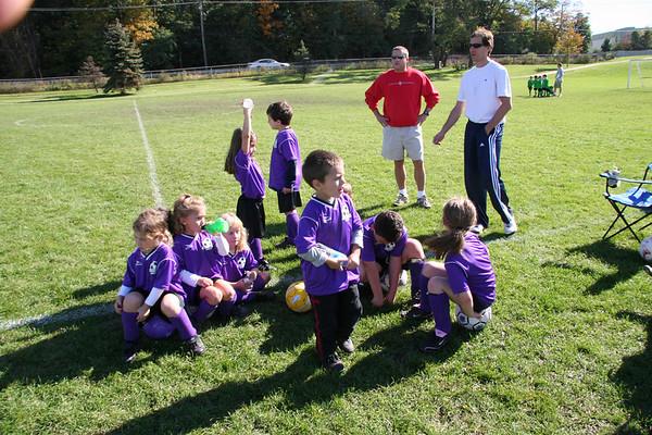 2006-10-07 Jamie Soccer Team Game