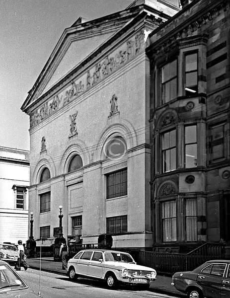 Some shots of the former Queen's Rooms in LaBelle Place. 1975