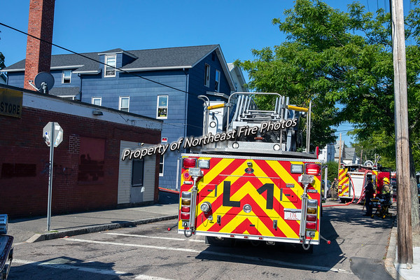 Pawtucket- 2nd Alarm- Jefferson Street- September 6th, 2020