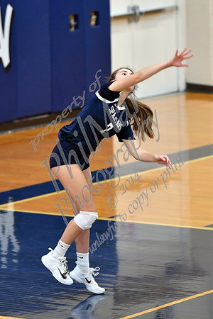 Wyomissing vs Berks Catholic Girls High School Volleyball 2018 - 2019