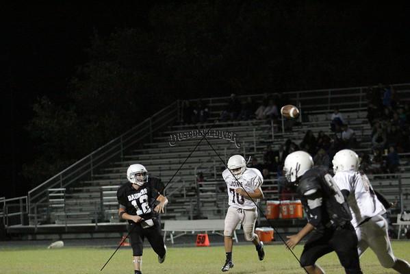 8th Grade OrangeFB vs Brownwood