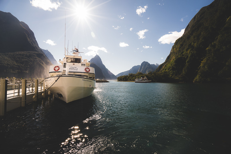 All Aboard - Milford Sound, New Zealand