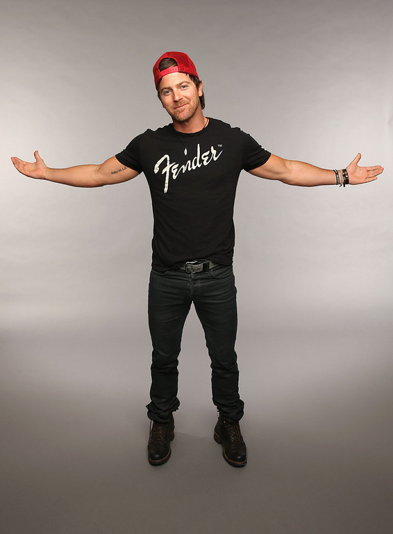 . NASHVILLE, TN - JUNE 05:  Musician Kip Moore poses at the Wonderwall portrait studio during the 2013 CMT Music Awards at Bridgestone Arena on June 5, 2013 in Nashville, Tennessee.  (Photo by Christopher Polk/Getty Images for Wonderwall)