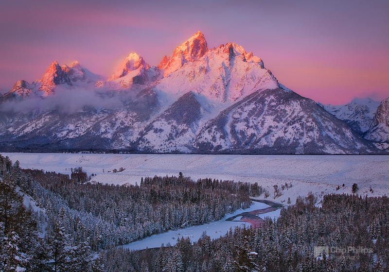 """Grand Teton Winter""