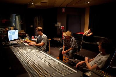 Sam Buckingham Recording Session @ Alberts 20/12/2011