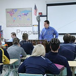 andrew chesney visits mr. gabel's government class . 10.25.18