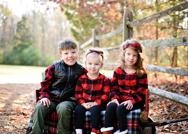 Vivienne, Everett & Adeline {Holiday Mini}