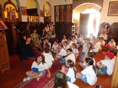École Démosthène Visit
