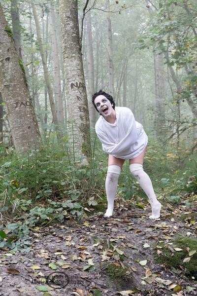 the Halloween shoot