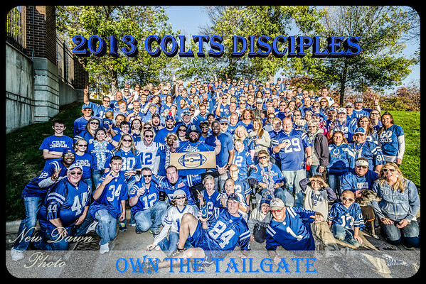 2013 Colts Disciples