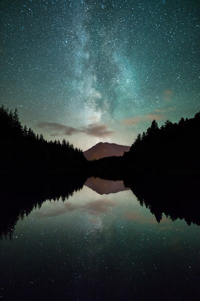 Glencoe Lochan Milky Way reflection scotland forest lake_1.jpg