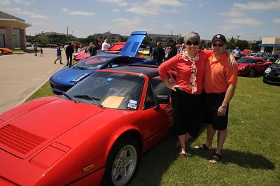 5-14-2011 Theresa Lusk @ Ferrari Car Show-Plano