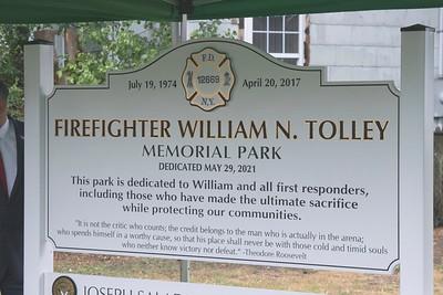 Firefighter Tolley Park Dedication [5-29-21]