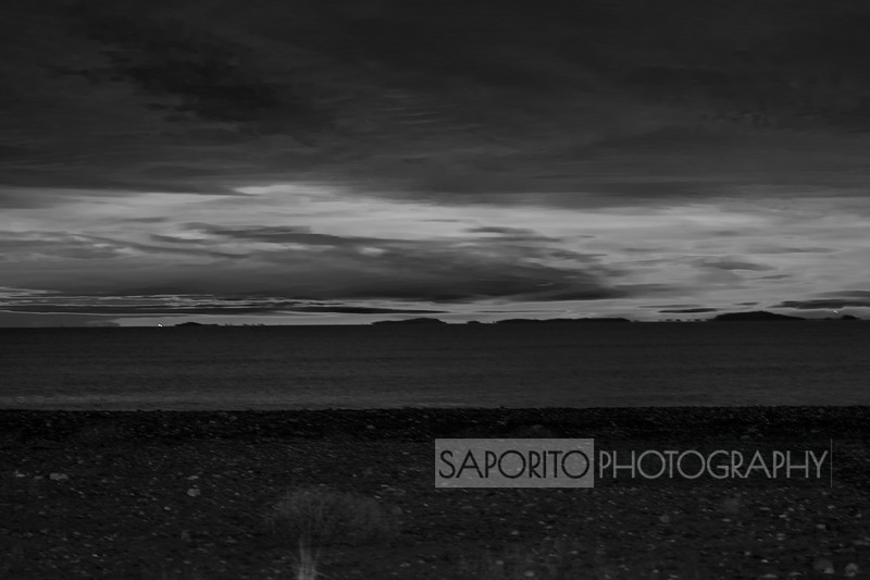 Winthrop Dawn - black and white
