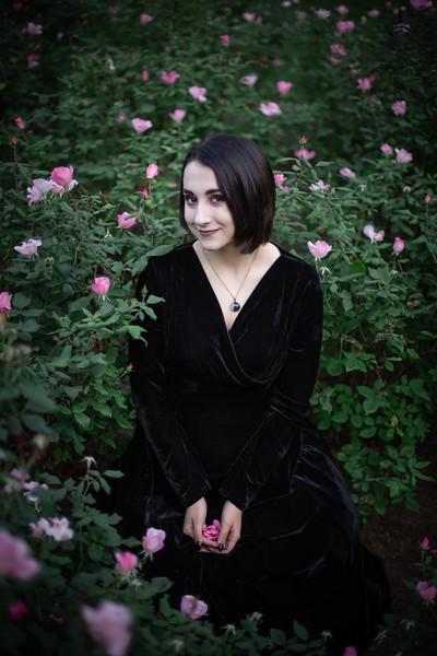Julia's Gothic Fairytale Senior Photos