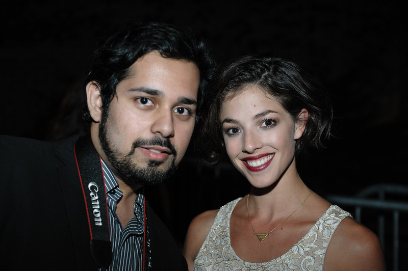 Olivia Thirlby and Fan