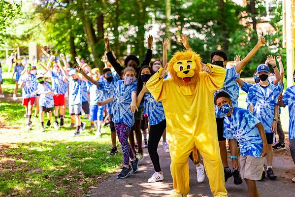 Lane School 5th Grade Parade 2021