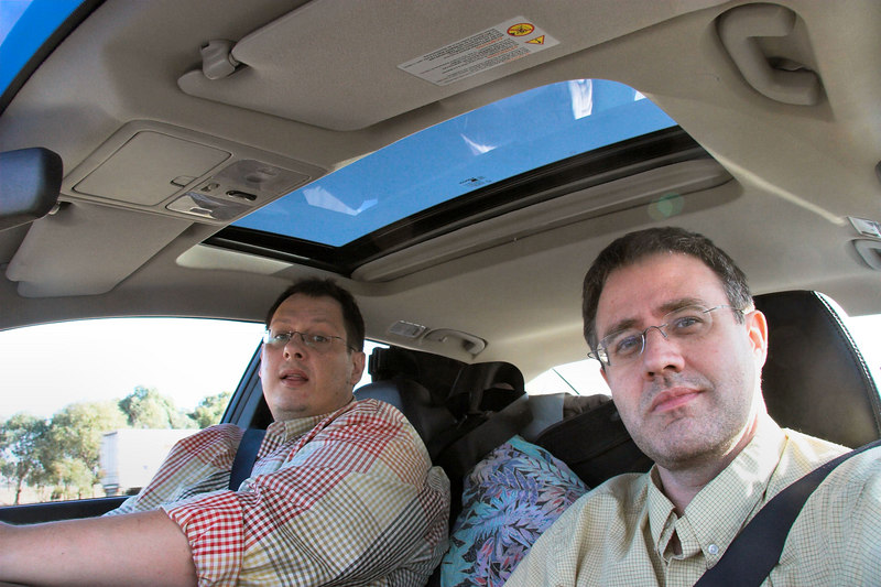 Dennis and Anthony travelling to Buffalo.