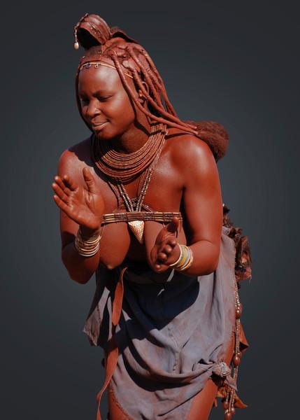 HIMBA LADY - NAMIBIA
