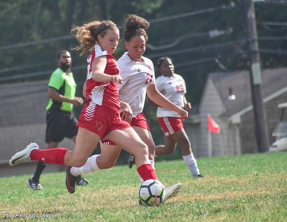 LHS Girls Soccer V Trenton