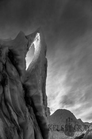 Matanuska Glacier Guiding w/ Duane 10/18/14