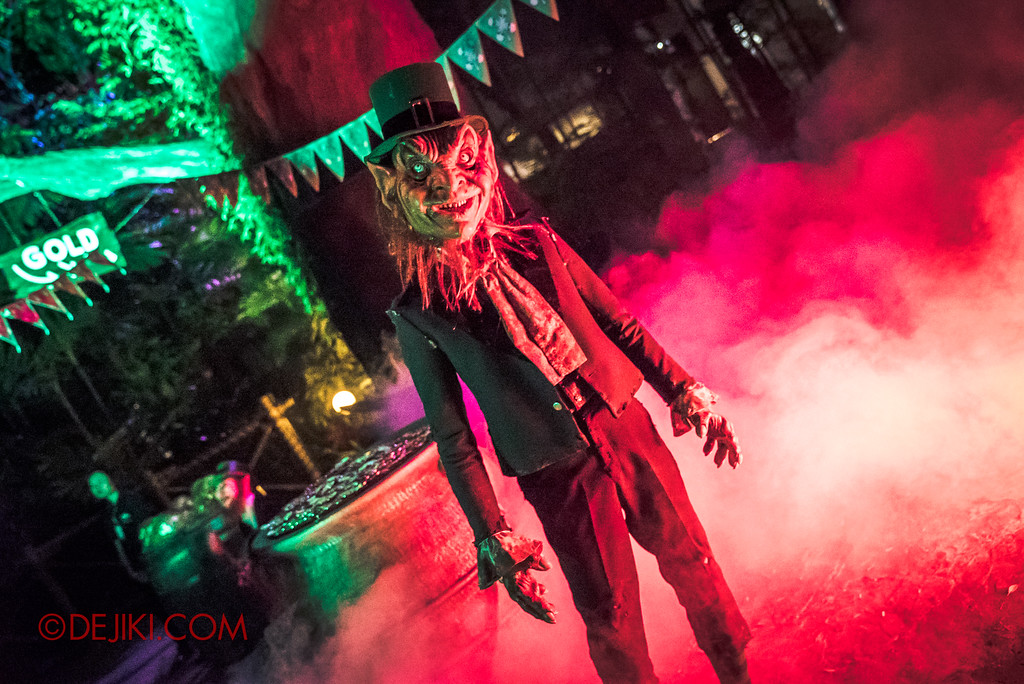 Halloween Horror Nights 7 Sneak Preview - Happy Horror Days scare zone