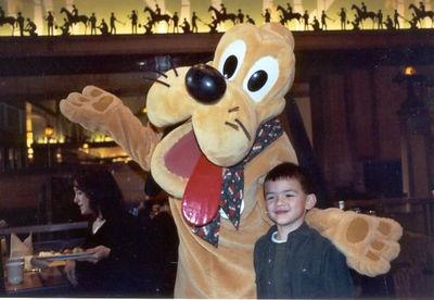 Christmas 2002, Disneyland, CA