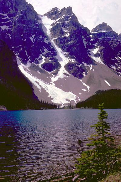 Small glacier in Glacier National Park