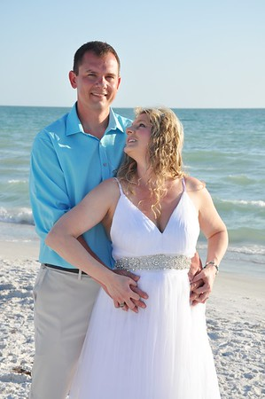 Beautiful intimate wedding in St. Pete Beach, FL