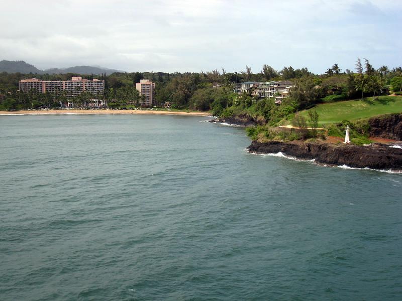 Departing Nawiliwili, Kauai