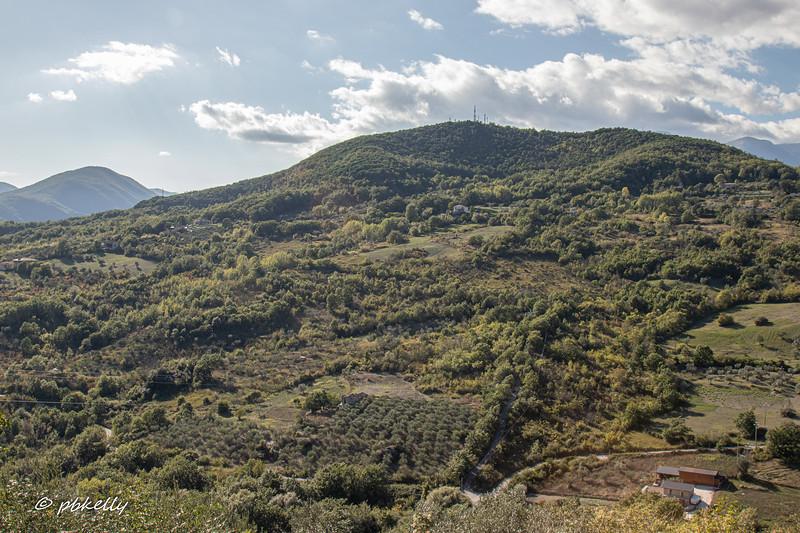 Land utilization outside Fornelli