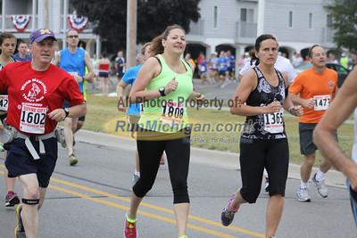 10K Start - 2013 Boyne City Independence Day Run