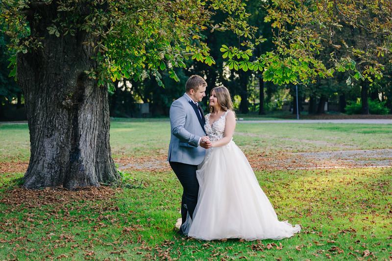Edina és Richi esküvője