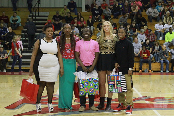 2015 Women's Basketball Sophomore Night