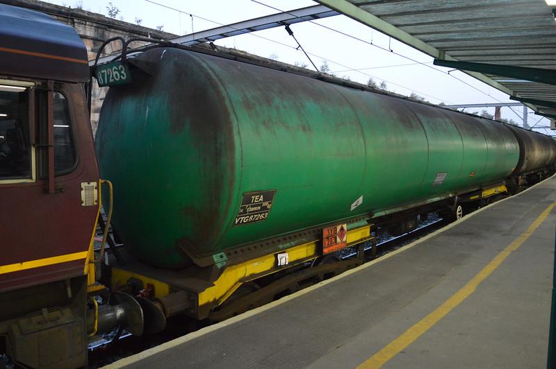 TEA 87263 in the rake of the Carlisle-Dalston service  25/07/14.