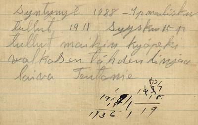 1800's-1920's Family History/Documents